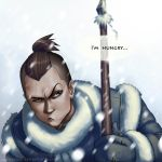 Hungry Sokka by Melllorine