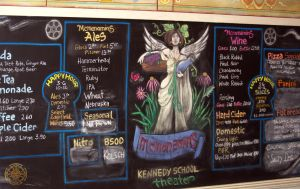Chalkboard Menu by DarrianAshoka