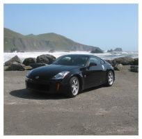 beach view 350z by jinnybear