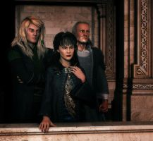 Bella's Trial 2: Lucius, Narcissa and Cygnus by deslea