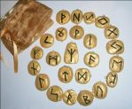 Elder Futhark Rune Set by alexwild13