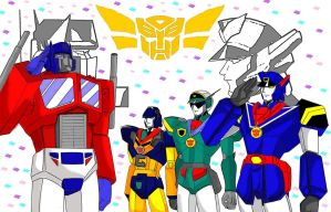 Honorary Autobots by Jee-Youn-Lim