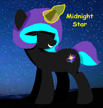 Midnight Star Minimal by mlp-and-anime-rock