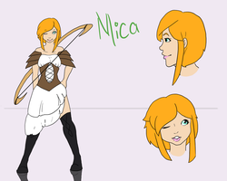 Mica Reference Sheet by SpookyBjorn