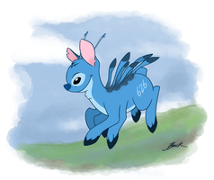 MLP - Stitch Pony by caycowa