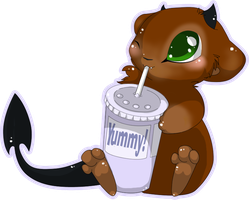 I Has a Sippy by MBPanther