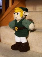 Crocheted Link by BunnieBard