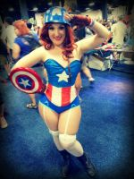 The Cap's  Meow by aqueenwithnocrown