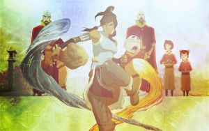 The Legend of Korra by Viciousdope