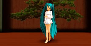 MMD THANKS FOR 20,000 PAGEVIEWS - MIKU DL by swordsman9