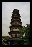 Temple of the 6 Banyan Trees by WiDoWm4k3r