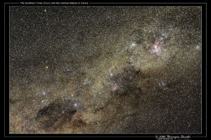 Crux and Eta Carinae Nebula by octane2