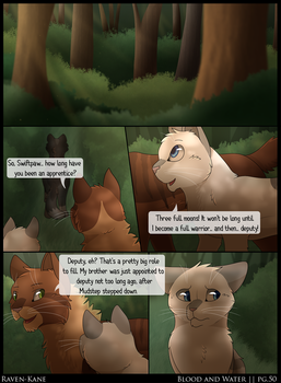 Warriors: Blood and Water - Page 50 by Raven-Kane