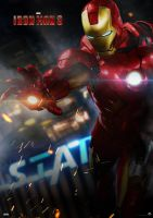 Iron Man 3 Poster by satorifrenzy