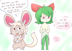 the.. 'good' part about being a fairy type by InYourFridge