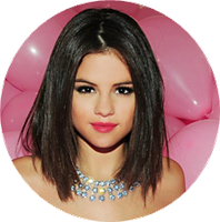 circulo png selena gomez  hit the lights by FranciscaZ