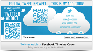 Twitter Addict - Facebook Timeline Cover.png by khaledzz9