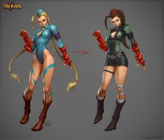 Cammy New Costume by Sephirothic7