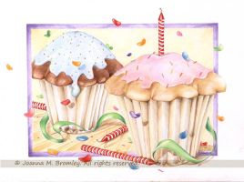 Cup Cake Birthday by JoannaBromley
