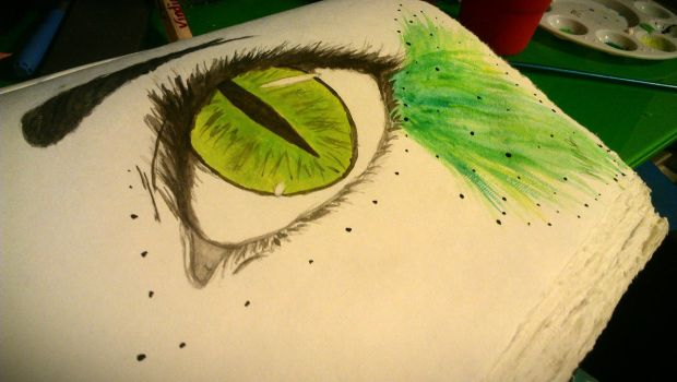 Green Eye by Raindown95