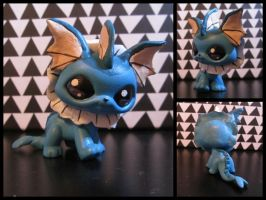 Vaporeon LPS custom by pia-chu