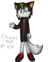 chaos the fox colored by The-Great-Bunbutchi