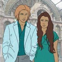 mentor and tribute - finnick and annie by finnodair