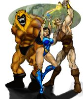 Thundarr the Barbarian by Fudle