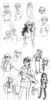 Homestuck Sketchdump 2 by Amandazon