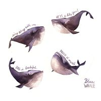 Blue Whales by Iraville