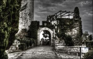 Castle entrance by stefansergio
