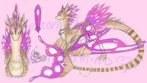 Butterfly Dragon (Auction) (CLOSED) by LeDemonicArtist