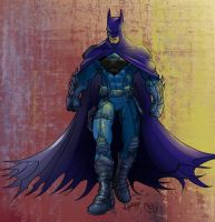 Ultimate Batman Colored by V3dd3rMan