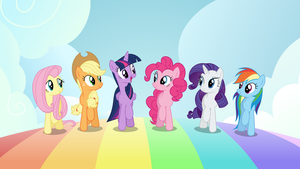 [Vector] Main Six Rainbow Walk by DerAtrox