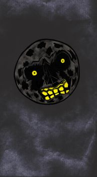 Majora's Mask Moon by Chrisapp8