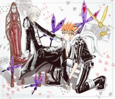Allen x Lavi - Colour by P-JoArt