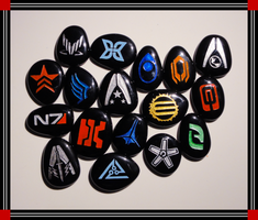 Mass Effect Stones, Part I by ChimeraDragonfang