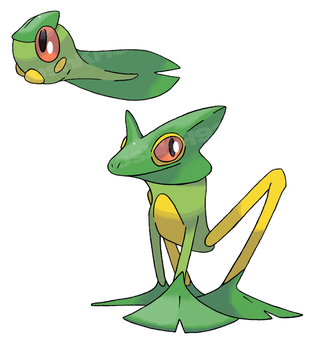 Flying Frog Pokemon by JoshKH92