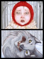 Petit chaperon rouge by Gogolle