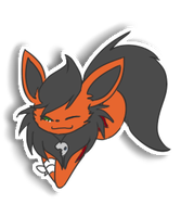 Kiri - DarkFlame Sticker by bambous