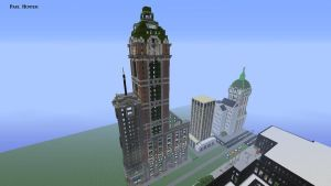 Singer Building Minecraft Xbox version by Spyrobandi