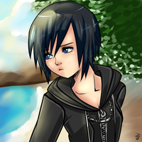 Xion Kh by dreamyxion
