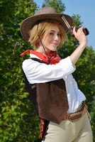 COSPLAY_Cowboy!America by Lele91