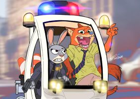Fox The Police by Kapalsky