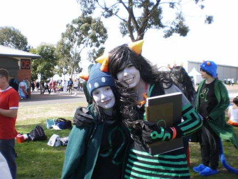 Nepeta and the Deciple by Kujyou-Ichiji-Val