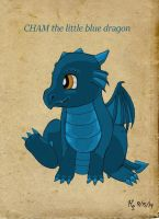 Baby Dragon Mascot by air-bourne