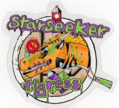 StarSeeker Badge 2016 by StarSeekerDragoness