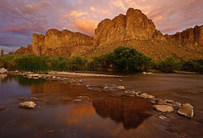 The Salt River by TrentLarsonphoto