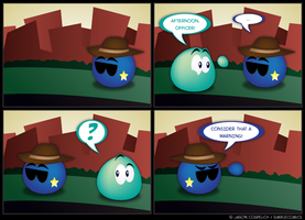 SC18 - Troublemaker by simpleCOMICS