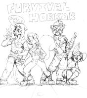 'Furvival Horror' sketch by zillford
